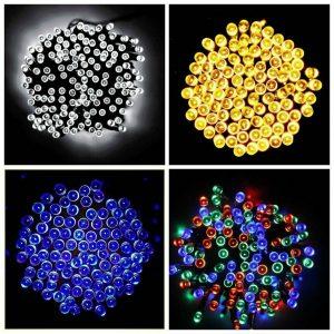 solar lights colour options